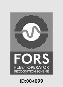FORS Logo - Fleet Operator Recognition Scheme ID:004099
