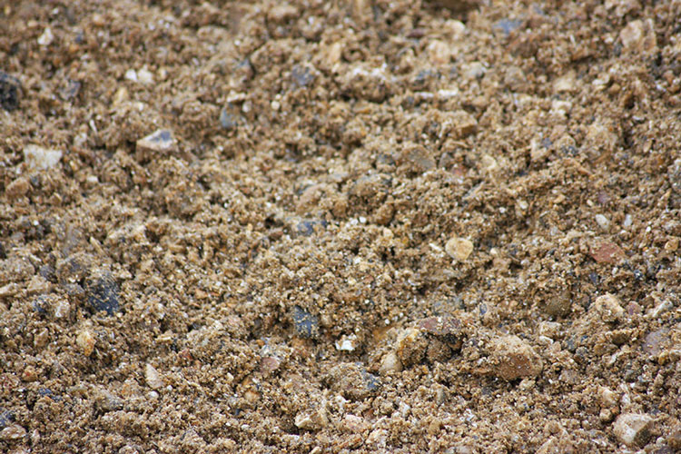 Close up of aggregate - 20mm ballast