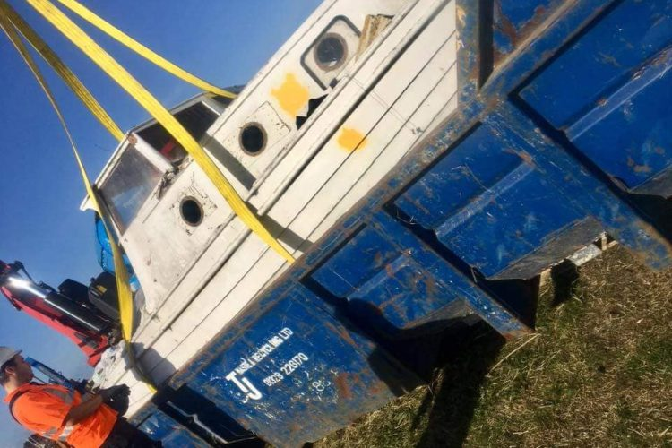TJ provides free skips for beach cleans