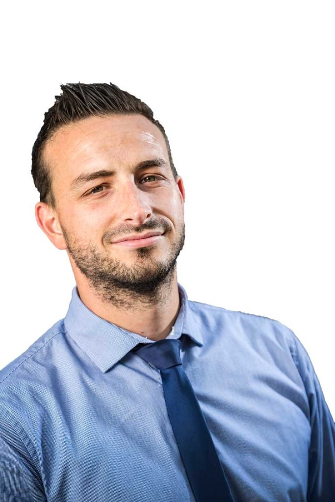 Portrait of Jamie Higgins, TJ Director