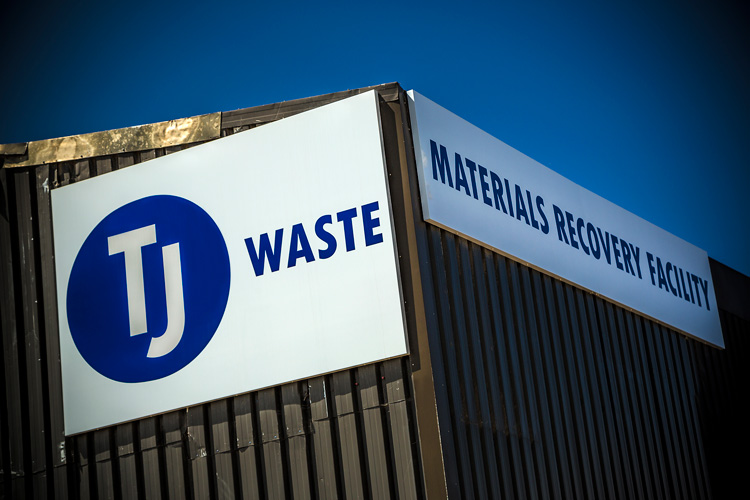 TJ Waste materials recovery facilities in Southampton, Portsmouth and West Sussex