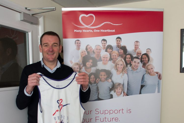 TJ employee to run the London Marathon for Wessex Heartbeat - TJ Waste