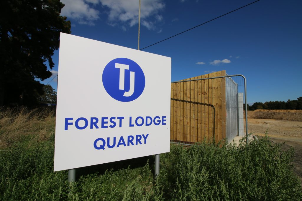 Forest Lodge Quarry Entrance