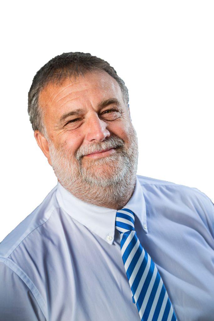Portrait of Terry Higgins, TJ Chairman