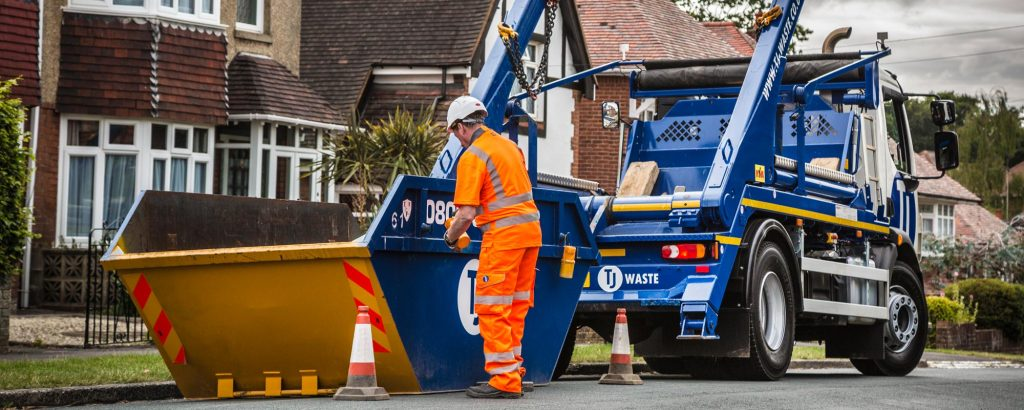 TJ Waste Skip Hire delivered in Portsmouth