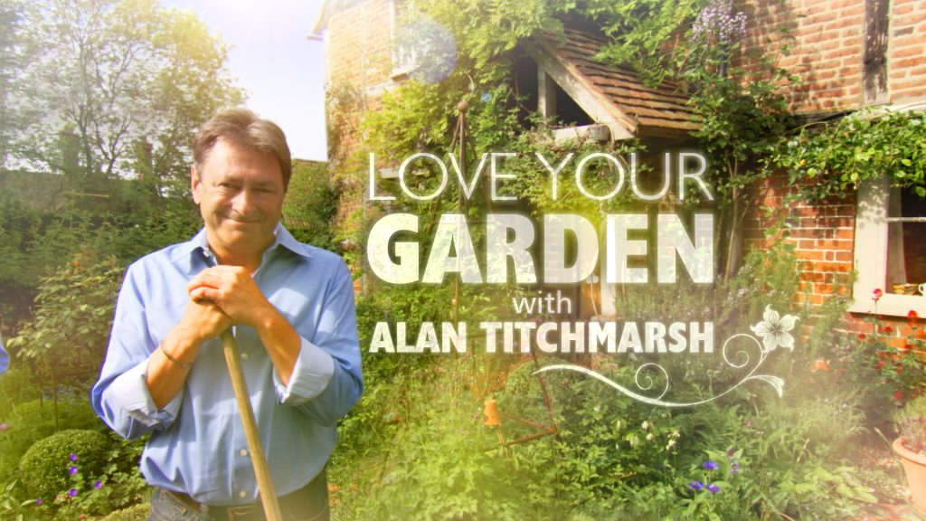 Love Your Garden logo with Alan Titchmarsh